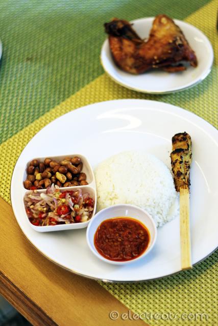 Ayam Betutu Goreng Meal Set - IDR 50K