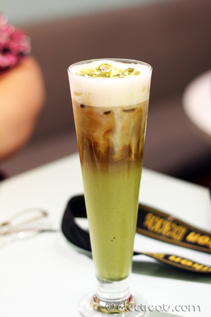 Kappa's Iced Japan Matcha Coffee - IDR 38K