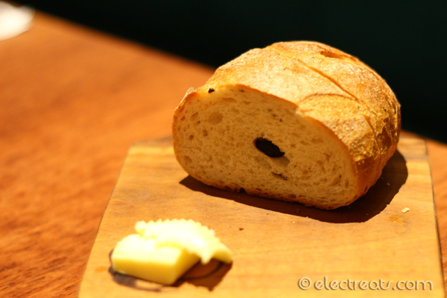 Complimentary Bread & Butter.