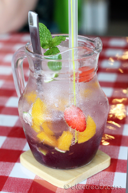 Ice Blackcurrant Sangria - IDR 39K