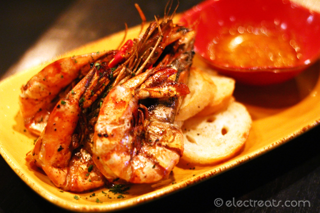 Grilled King Prawn