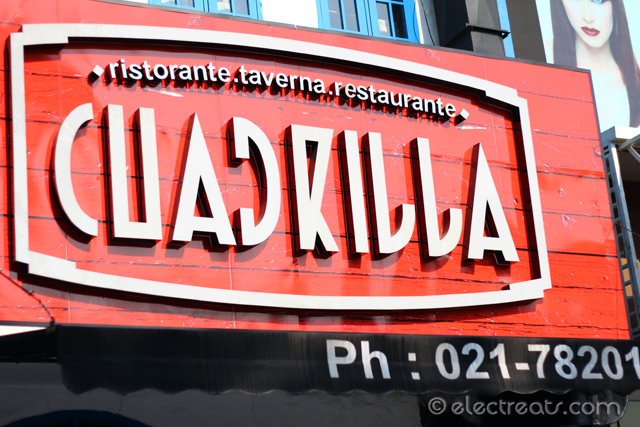 Cuadrilla  Italian, Greek, Spanish, all in one!