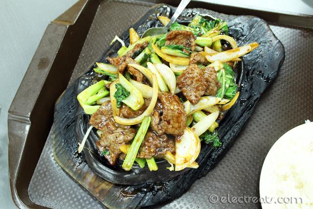 Sizzling Szechuan Beef
