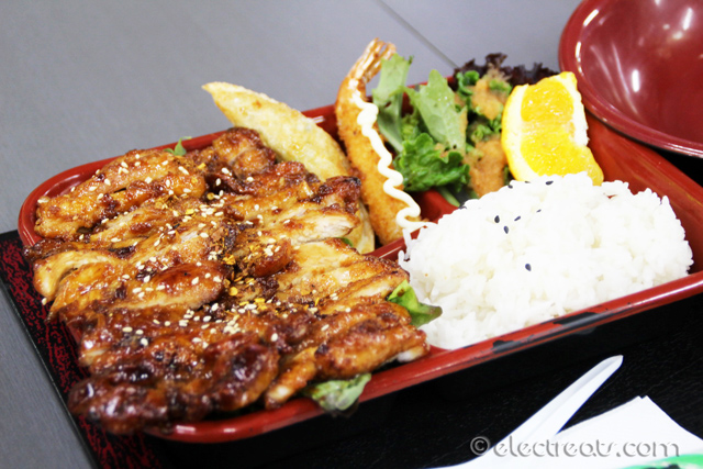 Chicken Teriyaki Bento - $12