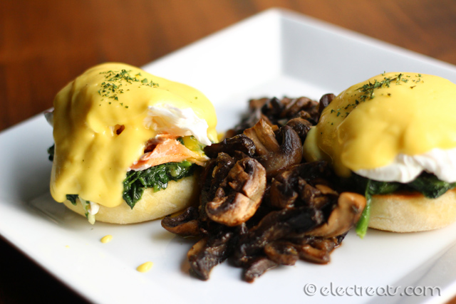 Eggs Benedict El Asador - IDR 66K  A must-try.