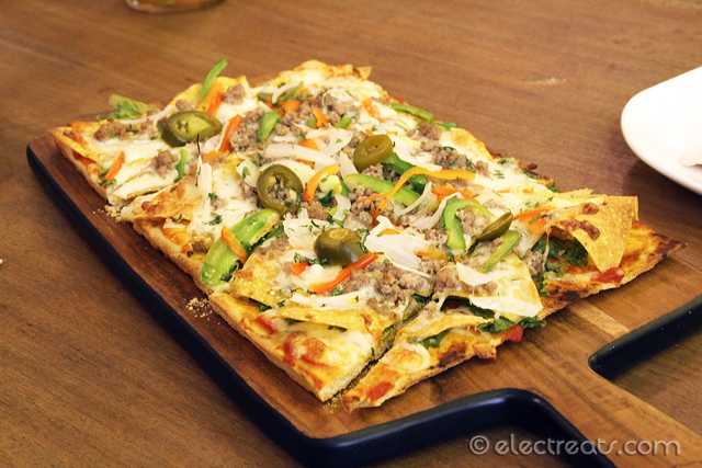 Mexican Pizza - IDR 85K  I was expecting something different when ordering this. Nothing Mexican about this pizza.