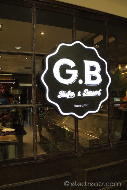 G.B. Bistro, a re-branding of Gelato Bar.