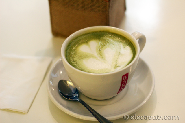 Hot Green Tea Latte - IDR 33K