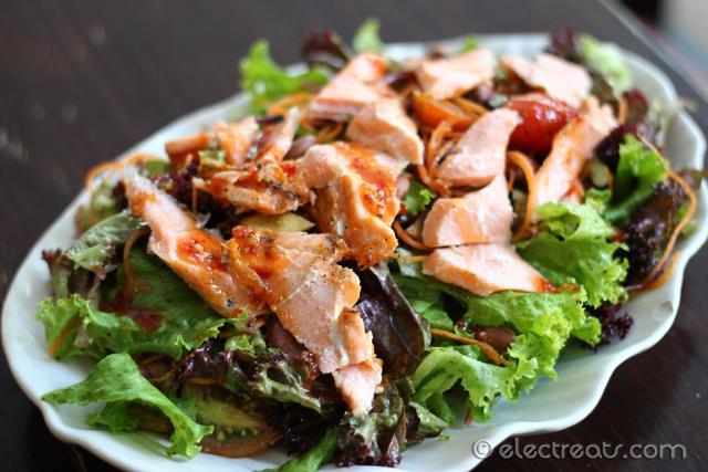 Salmon Nicoise Salad - IDR 98K