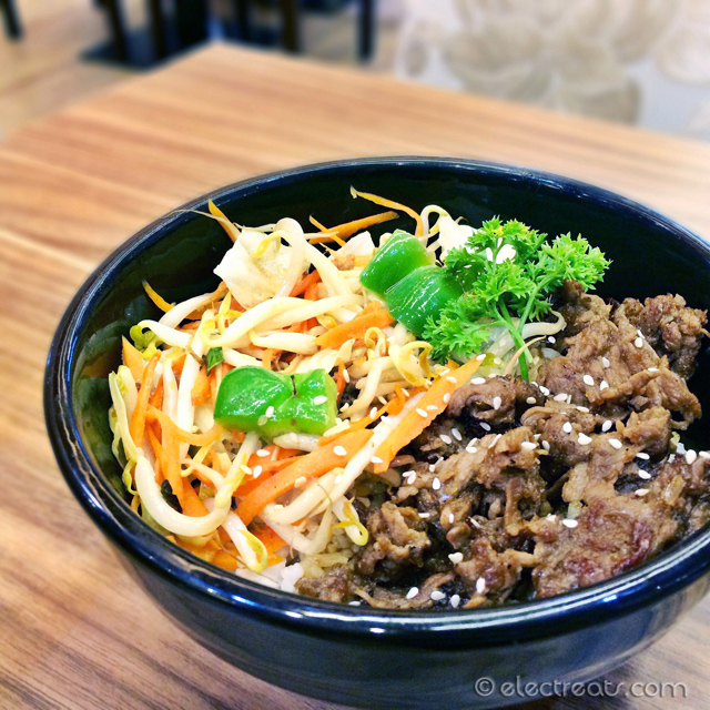Beef Teriyaki Donburi - IDR 24K  Yes, in fX Sudirman and only 24K! Best bang for the buck (or rupiah). OK banget lah!