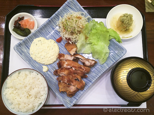 Chicken Nanban Set