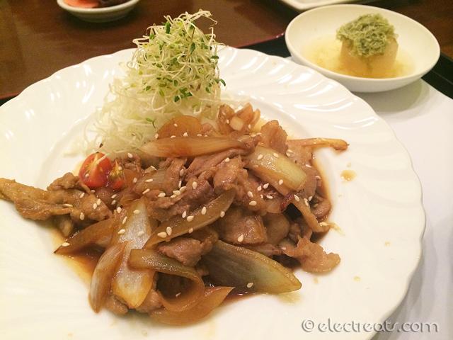Buta Shogayaki