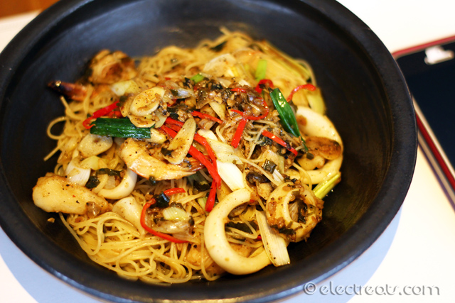 Capellini Black Pepper - IDR 99K net (Lunch Special)  A must-try.
