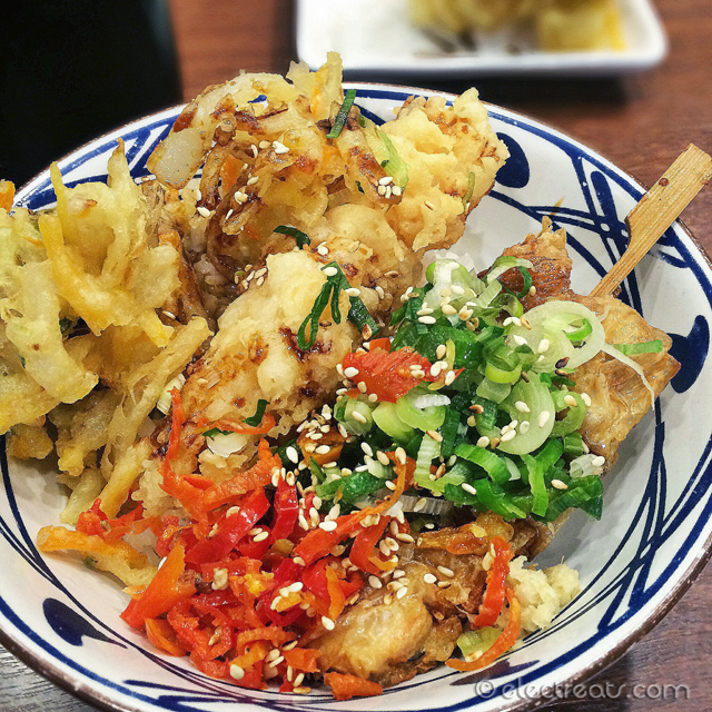 Tendon Seafood Rice - IDR 50K