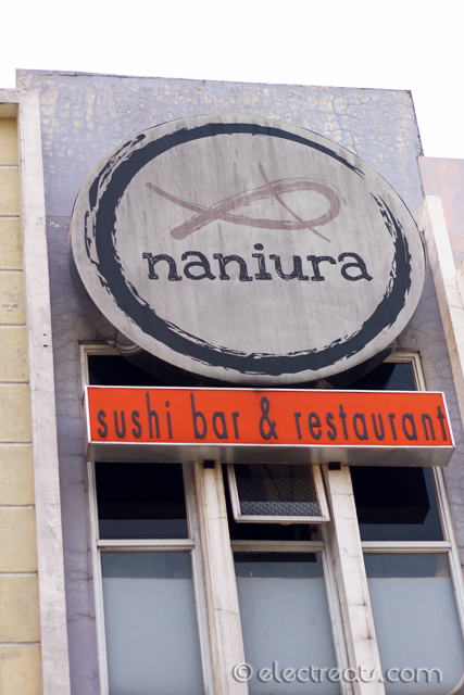 "Naniura Sushi  Not Japanese but Bataknese word for ""fish served without cooking""."