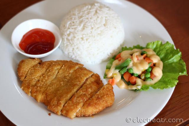 Chicken Katsu Rice - IDR 24K