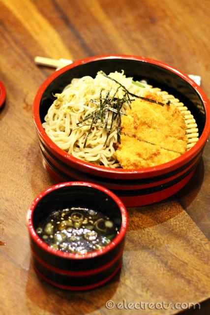 Tsukemen w/ Chicken Katsu - IDR 54K