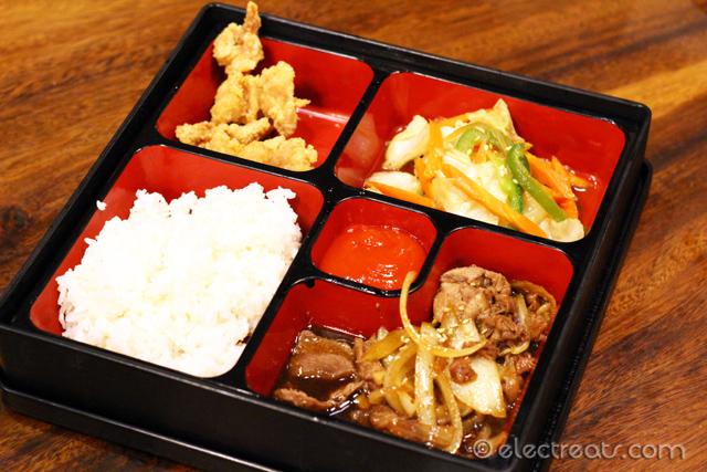 Beef Teriyaki Bento - IDR 42K