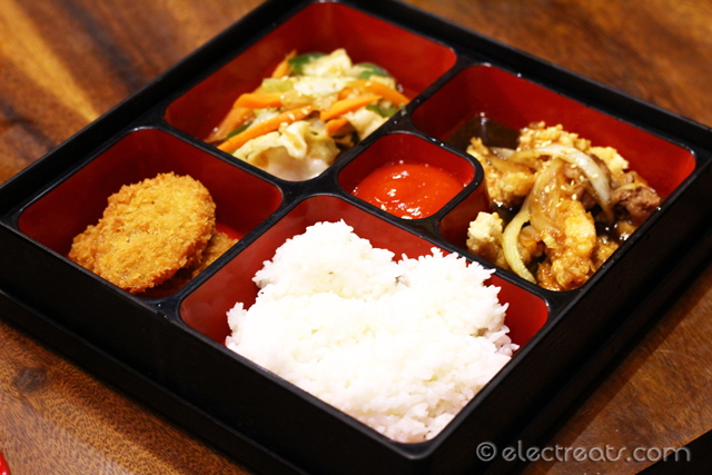 Chicken Teriyaki Bento - IDR 36K