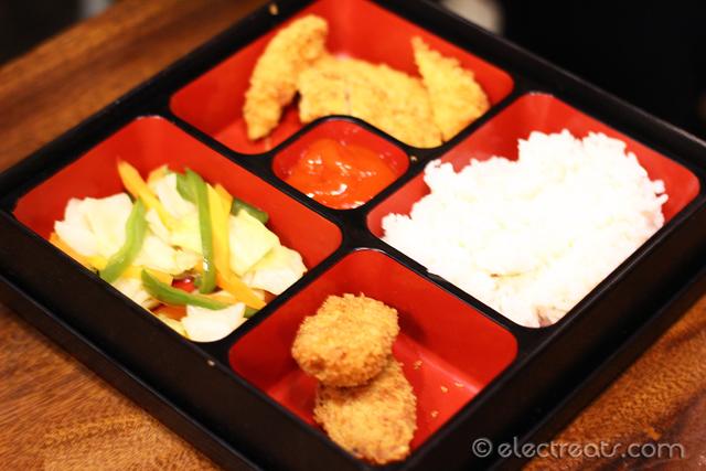 Chicken Katsu Bento - IDR 36K