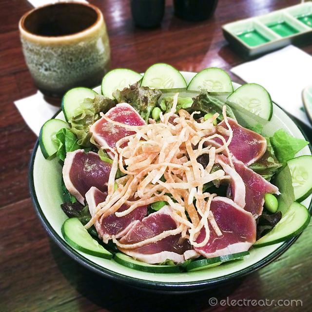 Tuna Tataki Salad - IDR 49K