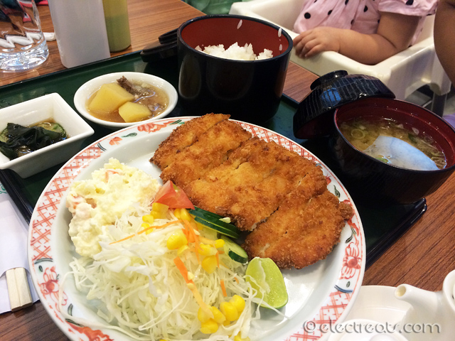 Chicken Katsu Set - IDR 61K  One of the good katsus.