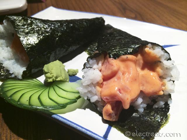Spicy Tuna Cone (Temaki) x2 - IDR 38K