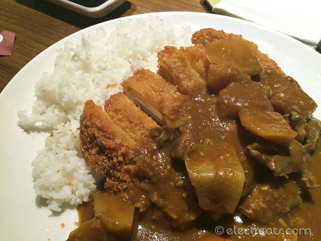 Chicken Katsu Curry Rice - IDR 68K