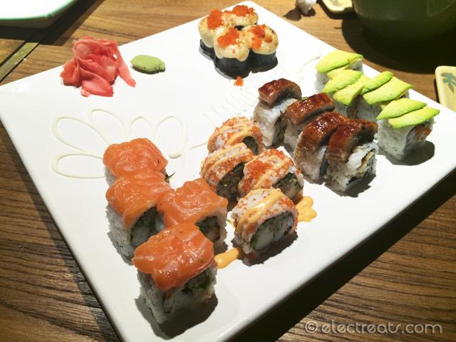 Fusion Sushi Platter - IDR 159K