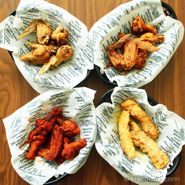 Wings Galore! 18 Chicken Wings (3 Flavors) and 2 Dipping Sauces - IDR 132K, the 4th tray sold separately! American chicken wings finally made it to Indonesia!