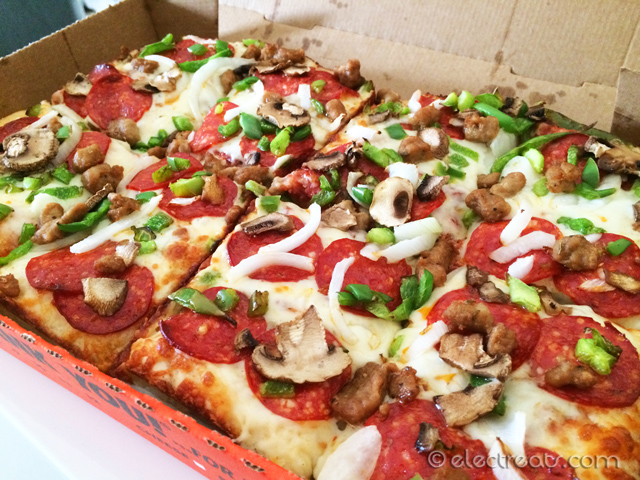 Deep! Deep! Dish Ultimate Supreme Pizza - $14.95