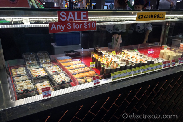 Sushi Sale after 3 PM!